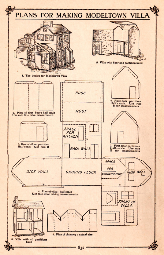 Wooden Doll House Plans - How to Make a Wooden Doll House Ency123 - fresh blueprint for building a bench