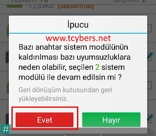 androıd-sistem-uygulaması-kaldırma