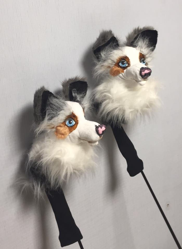 custom golf headcovers and puppets november 2017. Black Bedroom Furniture Sets. Home Design Ideas