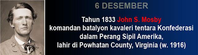 Hari kelahiran John S. Mosby