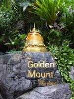 Maqueta del Golden Mount en la base del Golden Mount