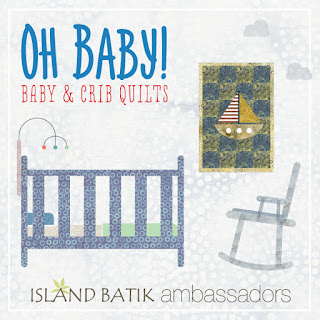 Island Batik baby quilt