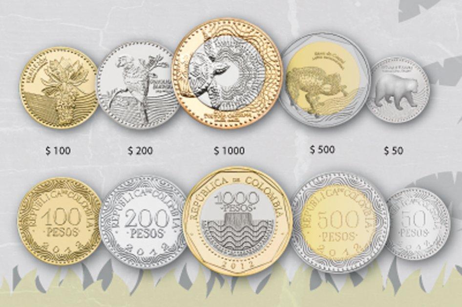 Nuevas Monedas En Colombia
