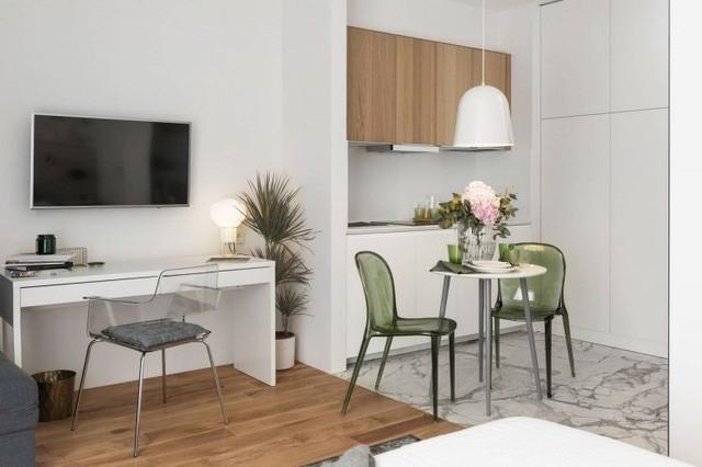 Chỉ 27m2 nhưng chủ nhà đã biến căn hộ của mình không thua kém chung cư cao cấp 5
