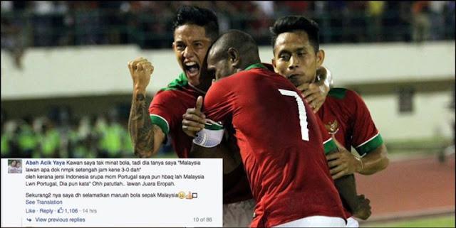 8 Komentar lucu fans Malaysia usai timnasnya kalah dari Indonesia - Resep Masakan