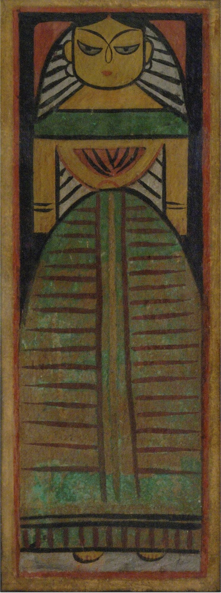 Doll by Jamini Roy, 20th Century