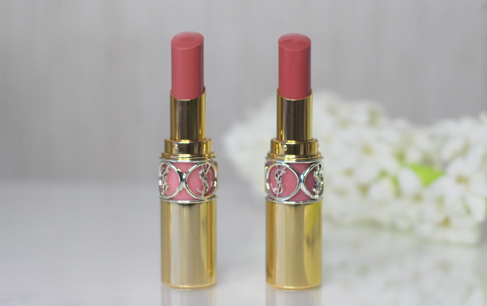 88d71a4fcac1 YSL Rouge Volupte Shine Oil-in-stick Shade 44 Shade 47 - they re not ...