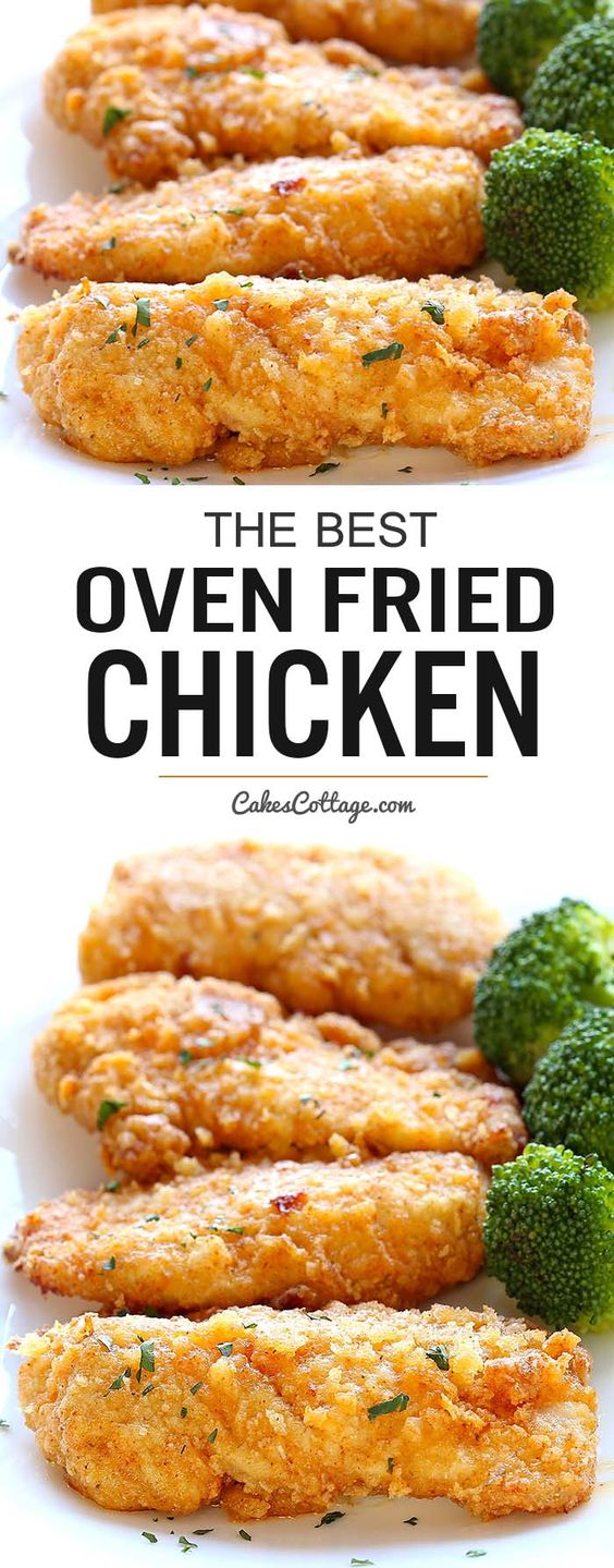Best Oven Fried Chicken
