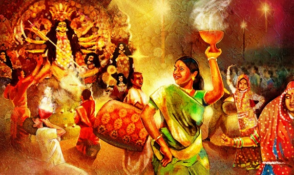 Durga Puja SMS, Wishes, Messages, Quotes in English