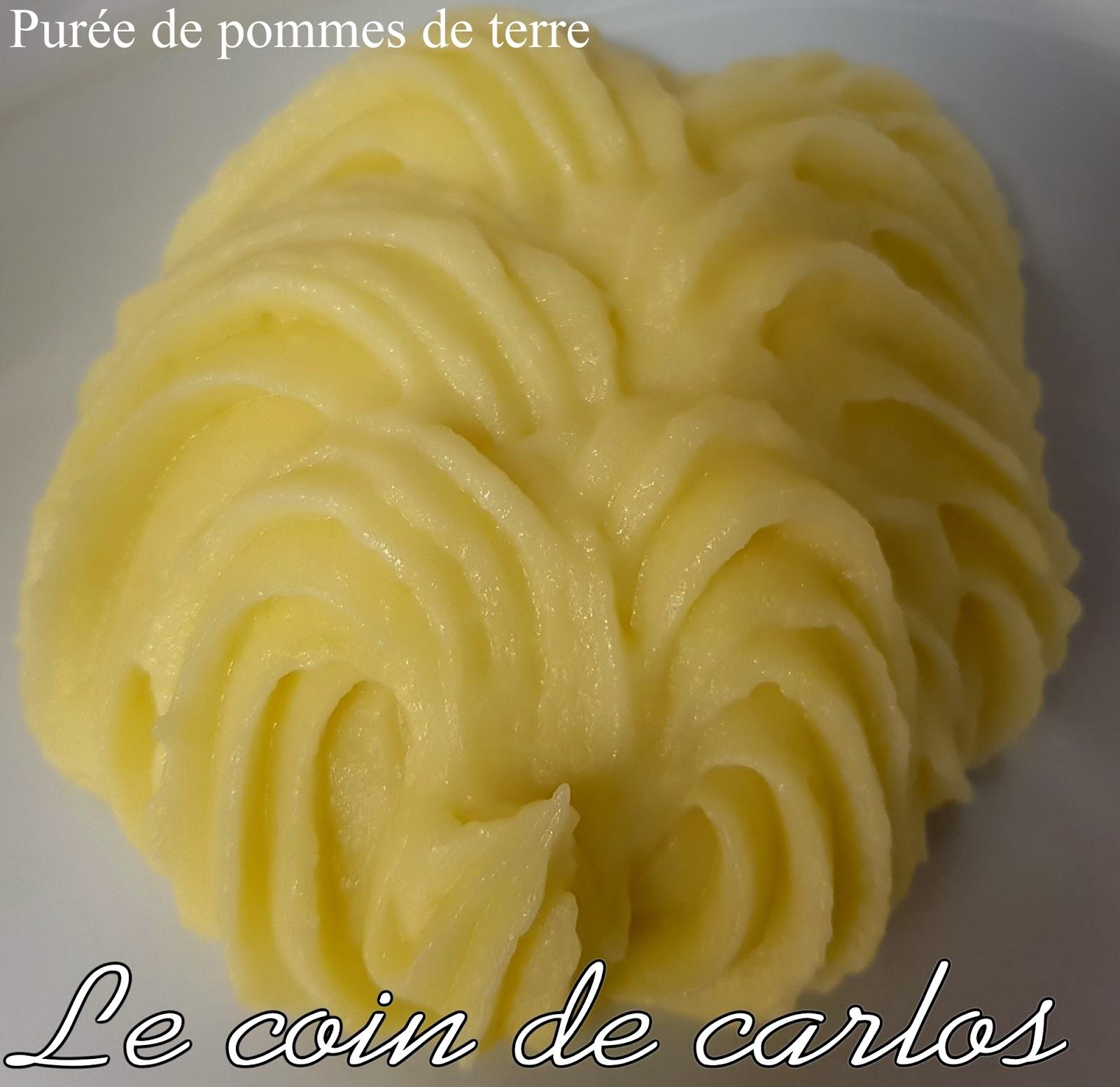 Le coin de carlos pur e de pommes de terre maison - Puree de pommes de terre maison ...