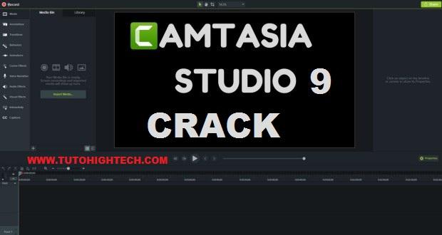 Télécharger Camtasia Studio 9 crack gratuit
