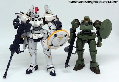 Review Gundam Fr RG Tallgeese & HG Leo