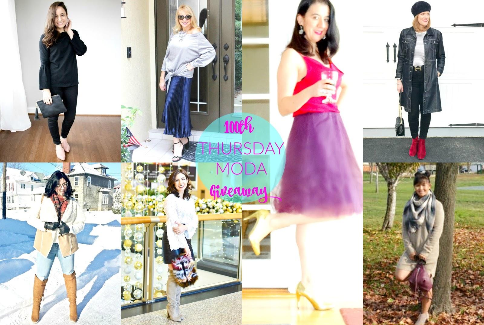 100th Thursday Moda Link up Celebration