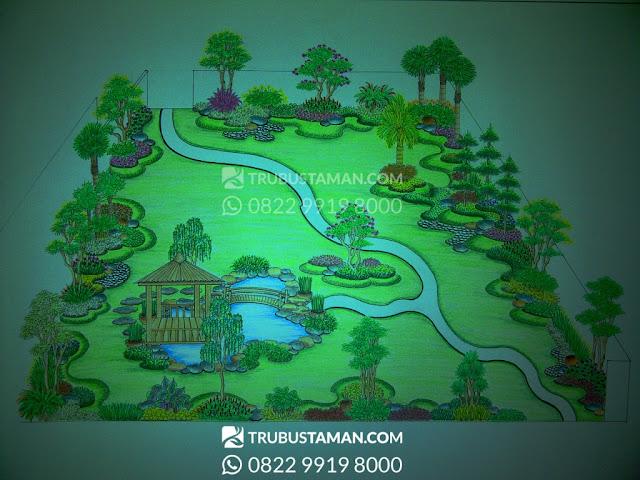 Tukang Taman Jakarta - jasa desain taman