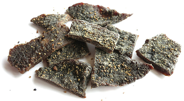 beef jerky black pepper