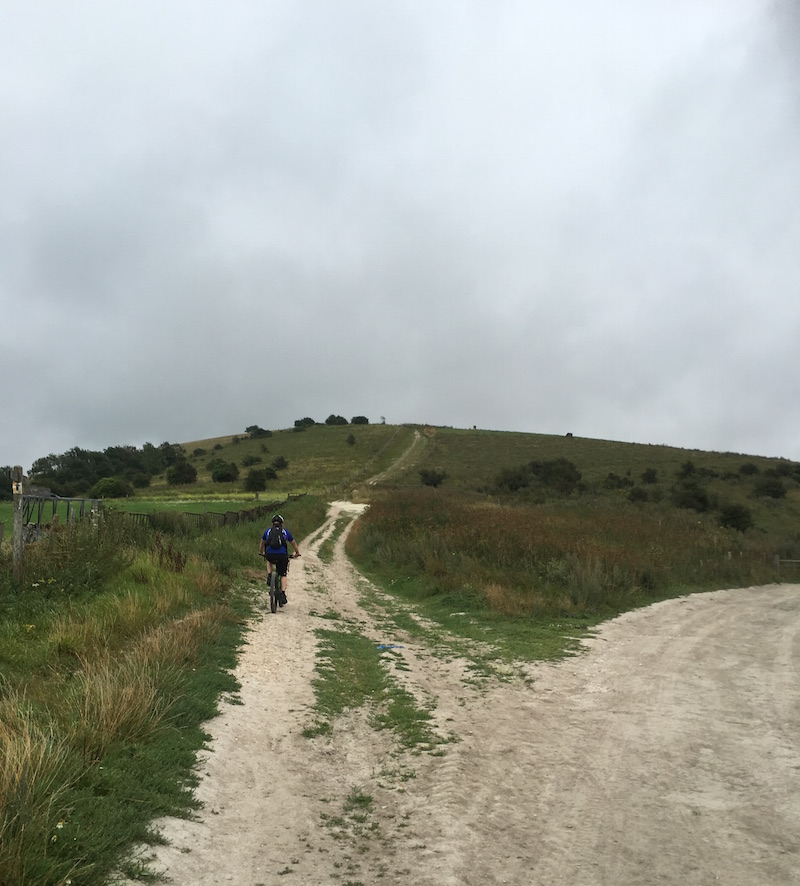 FitBits | Cycling the South Downs Way - Amberley to Devil's Dyke - Amberley Mount
