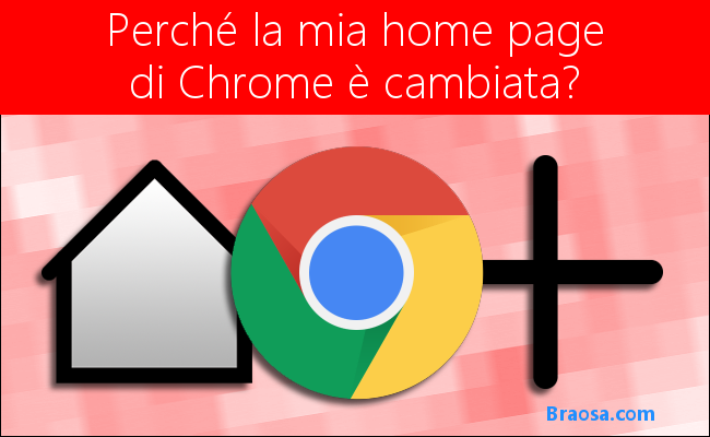 Perchè la home page di Chrome è cambiata