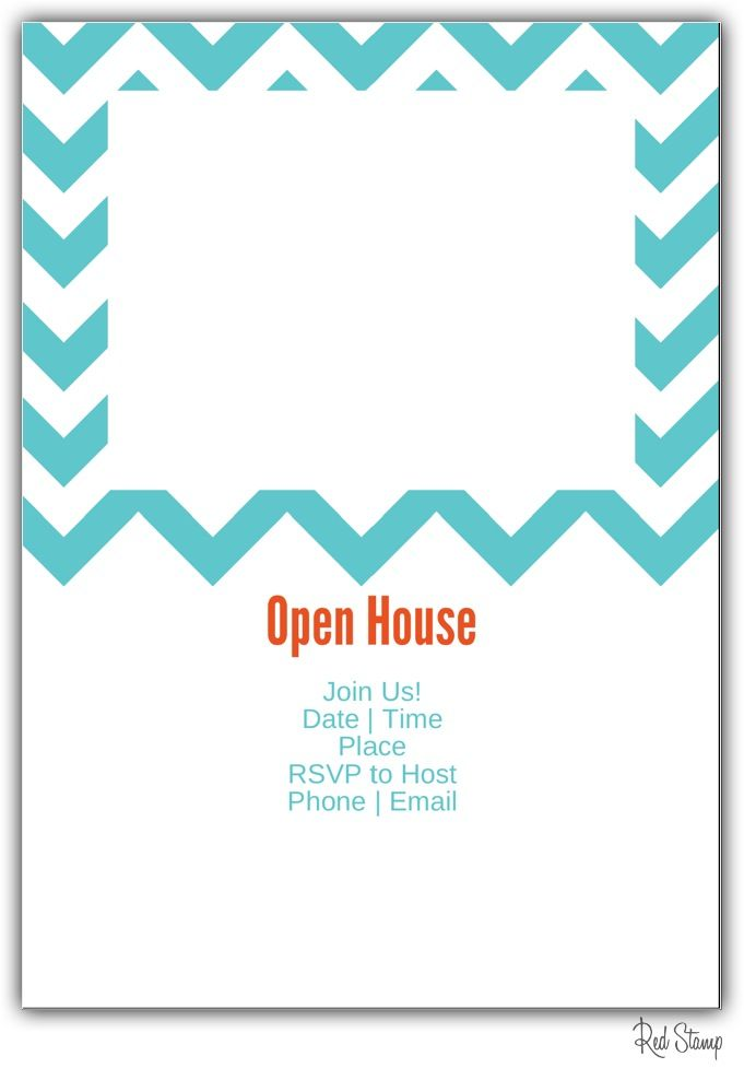 there are a total of five templates in this open house flyer ...