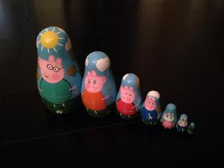 Poupées gigognes Peppa Pig