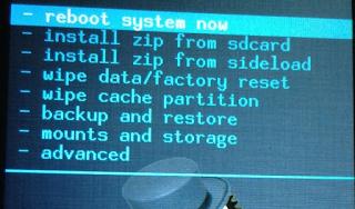 Firmware Acer Liquid Z4 / Z160 via recovery CWM
