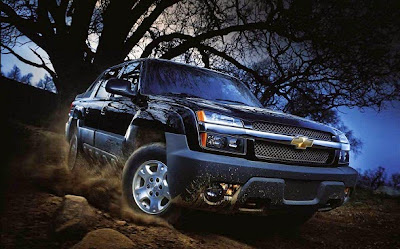 2016 Chevy Avalanche Front View Model