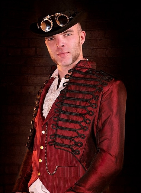 DevilInspired Steampunk Dresses: Military Menswear in ...  Steampunk