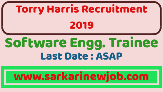 Torry Harris Recruitment 2019 – Software Engineer ( trainee ) | BE/BTech/ME/MTech – Freshers can Apply