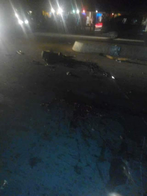 Black Valentine: Truck crushes two persons to death in Akwa Ibom