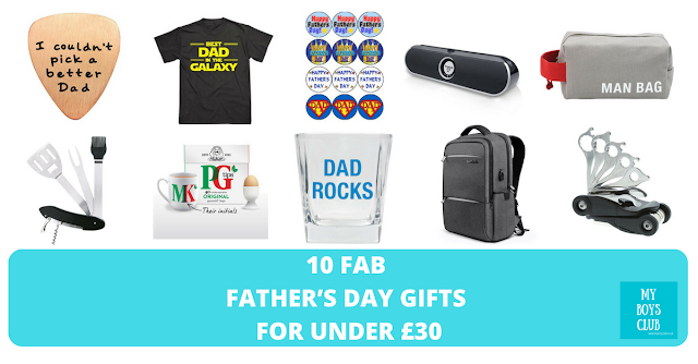 10 Fab Father's Day Gifts for under £30