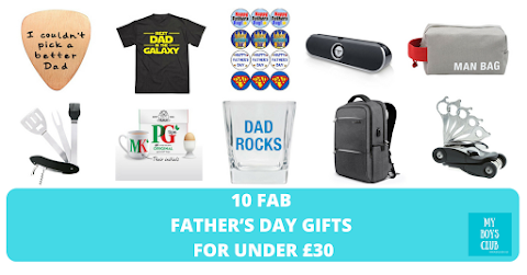 10 Fab Father's Day Gifts for under £30 (AD)