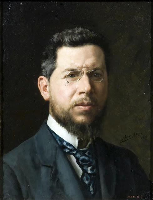 José Díaz Molina, Autorretrato, Maestros españoles del retrato,  José Francisco Díaz Molina, Autorretrato,  Pintores de Almería
