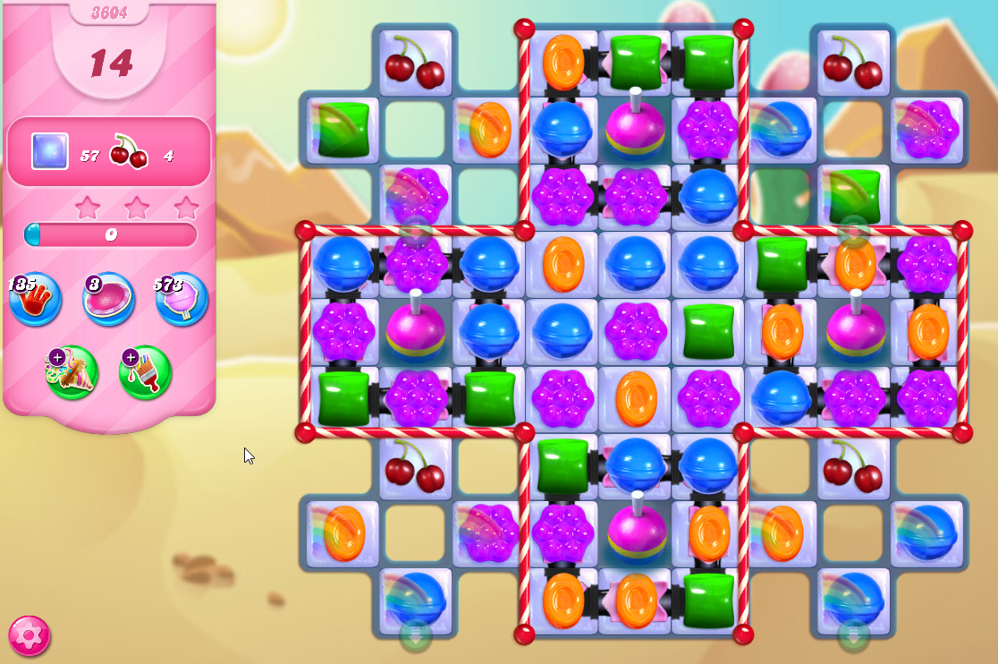 Candy Crush Saga level 3604