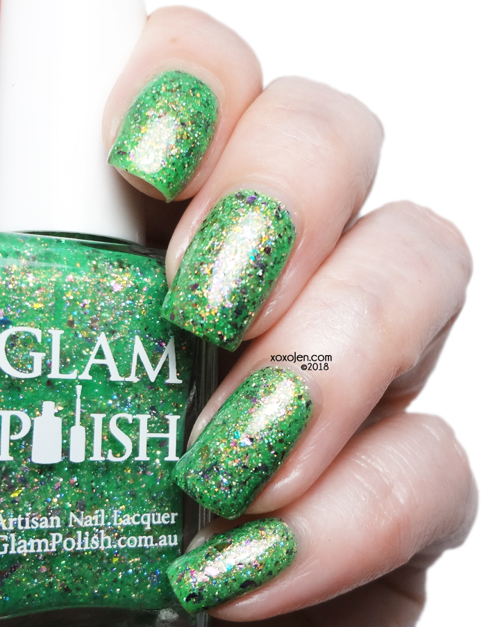 xoxoJen's swatch of Glam Polish Little Shop Of Horrors