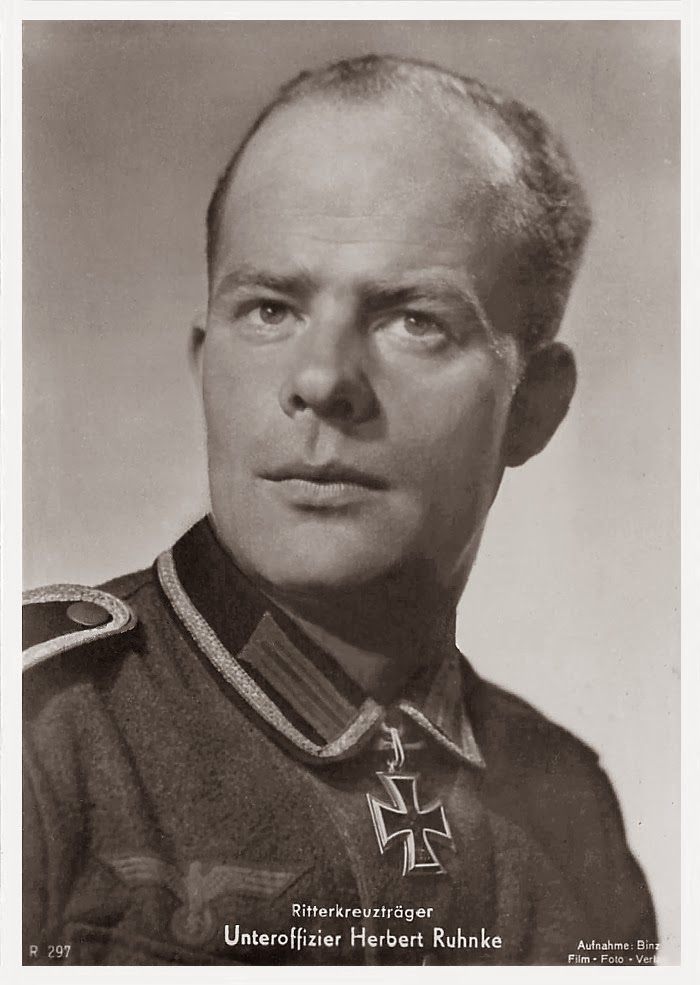 Herbert Ruhnke Ritterkreuzträger Knight Cross Holder Postcard