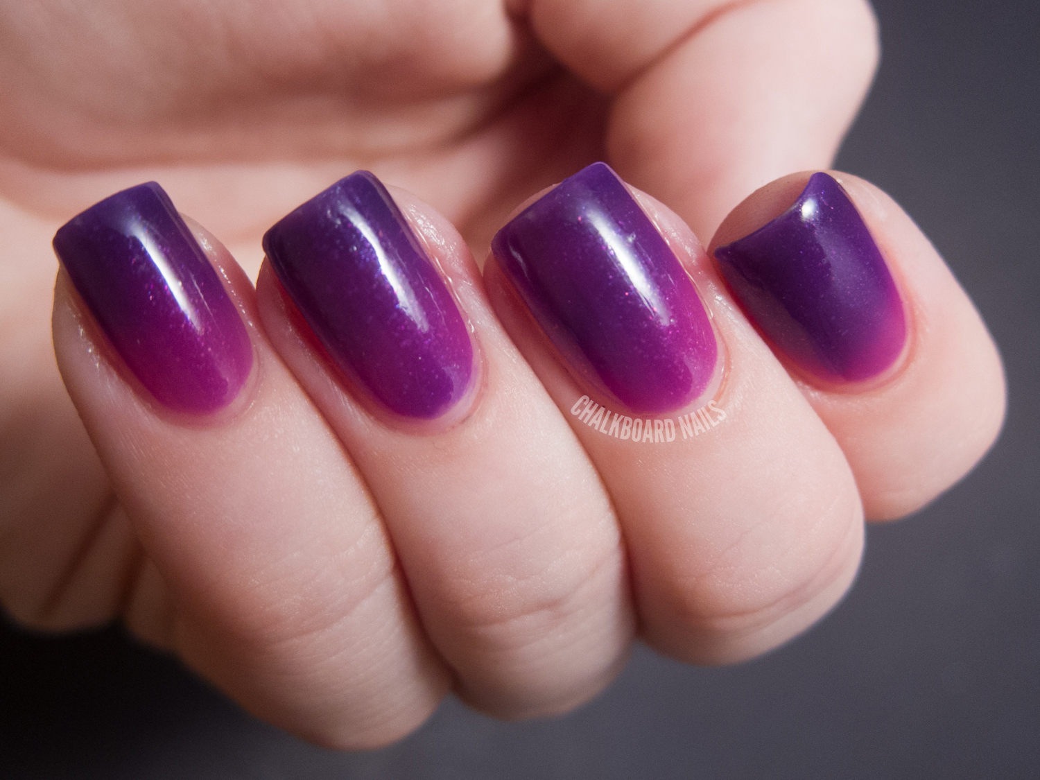 Pretty And Polished Day Trippin39 Color Changing Polish