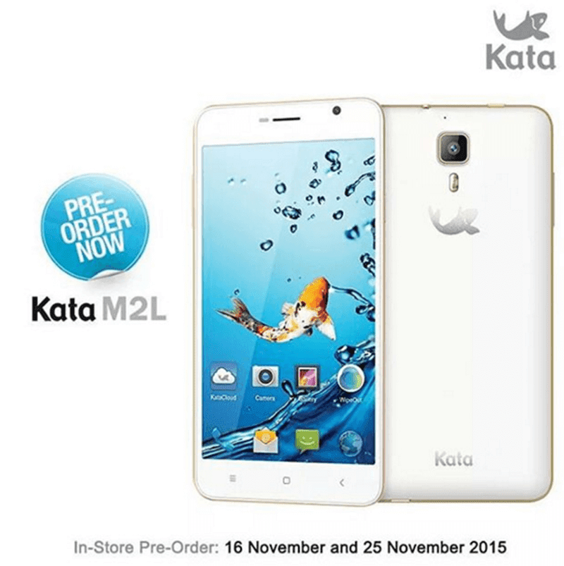 Kata M2L Announced In Singapore, Their First Android 5.1 LTE Powered Handset!