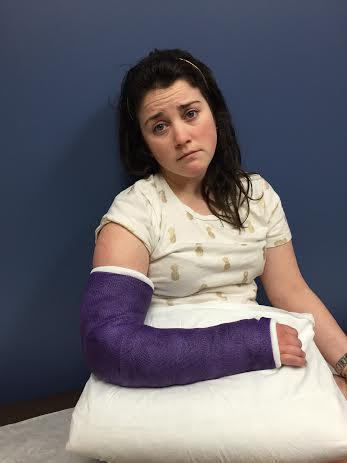 broken wrist