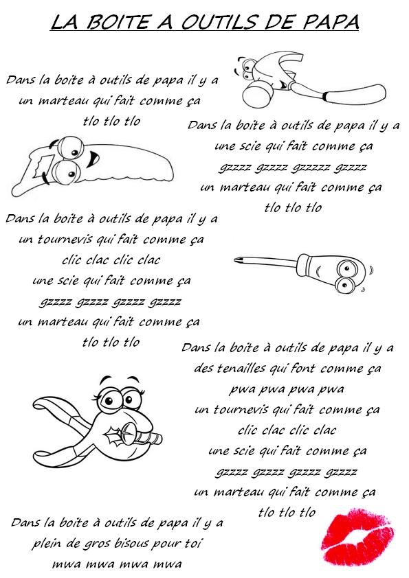 La Boite à Outils De Papa : boite, outils, Maternelle, Laurène:, Boite, Outils