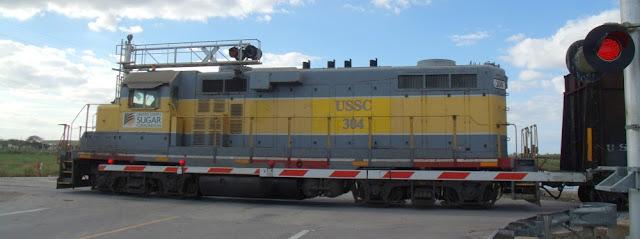 Locomotora de la USSC