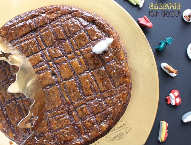 galette des rois chocolat facile rapide