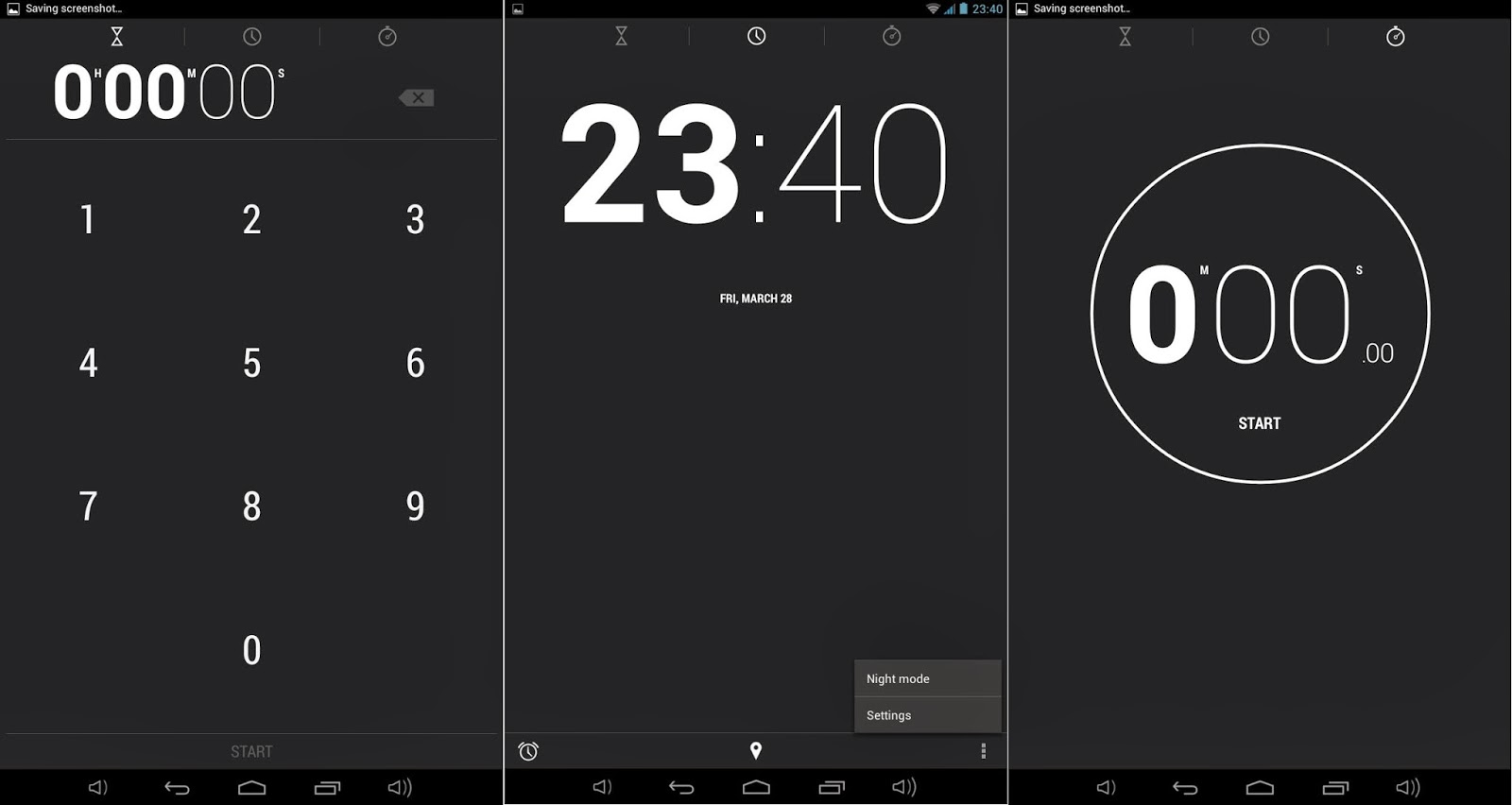 Qube PhoneTab Review: Double The Fun Clock