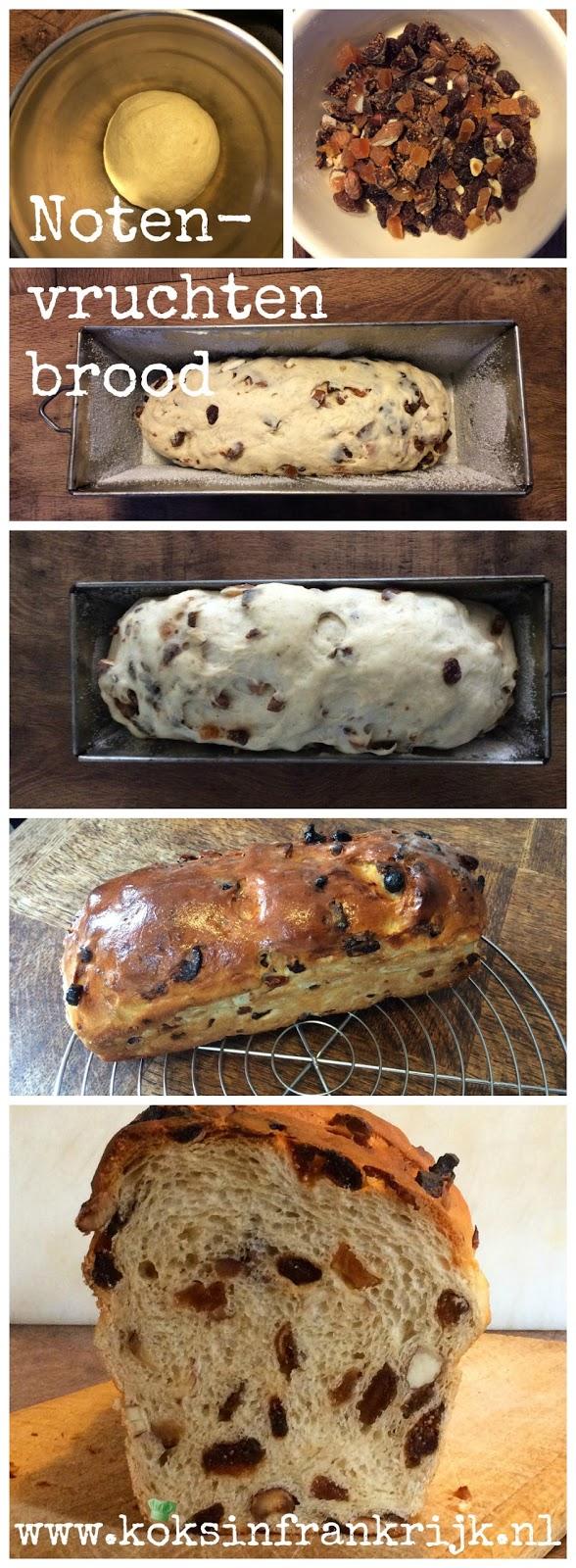 Zelf noten-vruchtenbrood bakken