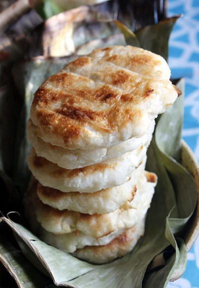 Bánh củ sắn nướng