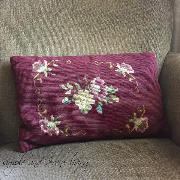 Decorative Pillow Trends 2016 : Not only do I have floral pillows, but I have a full on chintz setee.