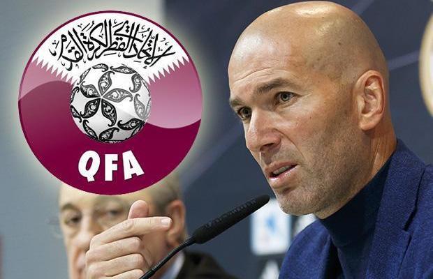 Latih Qatar, Zinedine Zidane Ditawari Kontrak £176 Juta?
