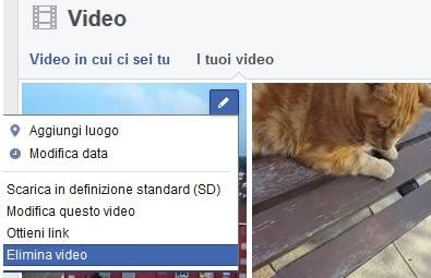 Elimina video