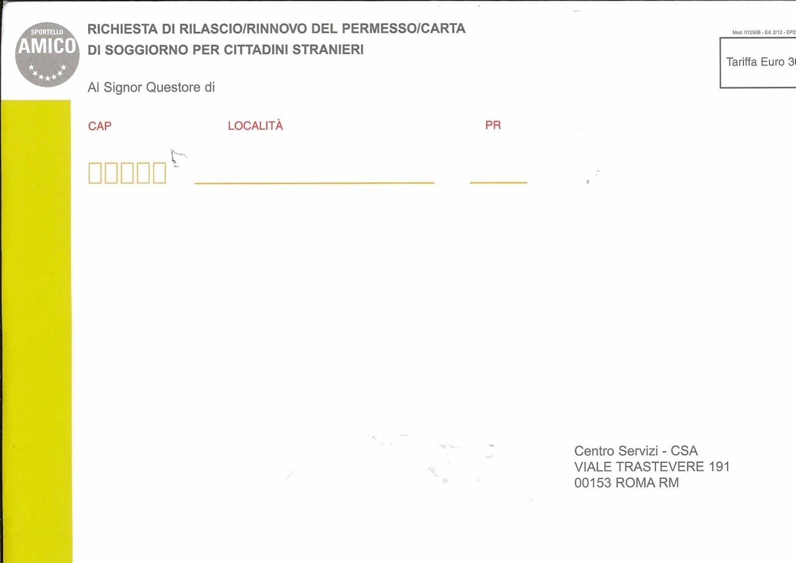 Controllo Permesso Di Soggiorno Online Treviso | Permesso Di ...