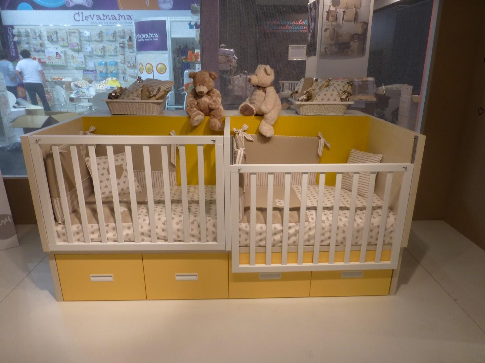 Muebles Ros Kind Und Jugen 2013 Cuna Convertible Para Gemelos - Cuna-para-gemelos