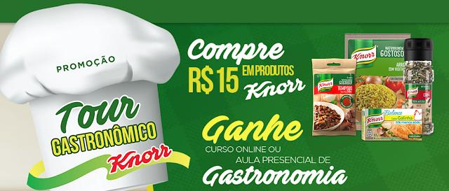 """Promoção: """"Tour Gastronômico Knorr"""" blog topdapromcao.com.br"""