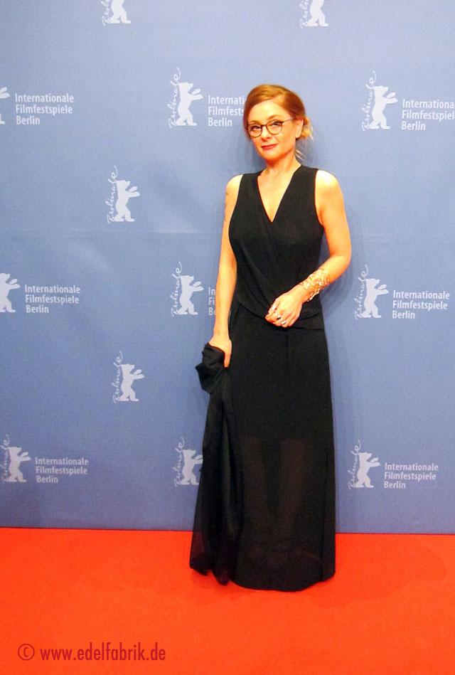 Chrissie auf dem roten Teppich, Berlinale 2016